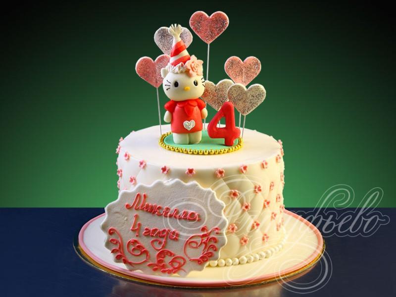 Детский торт с китти