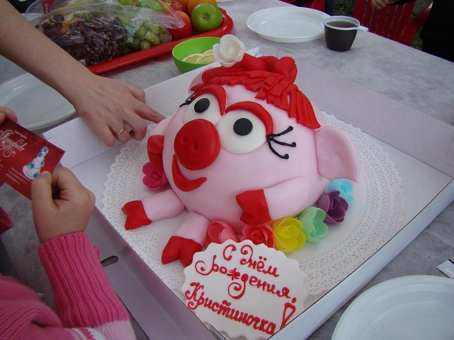 Красивый торт на день рождения дочки фото