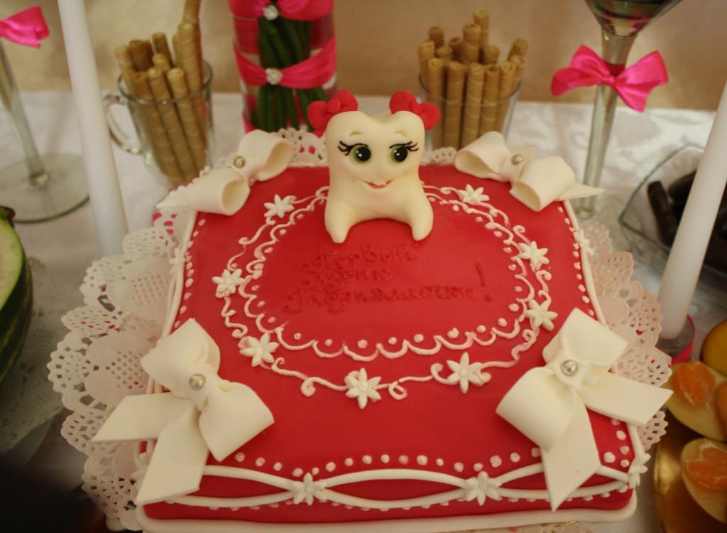 Торт зубик для девочек фото