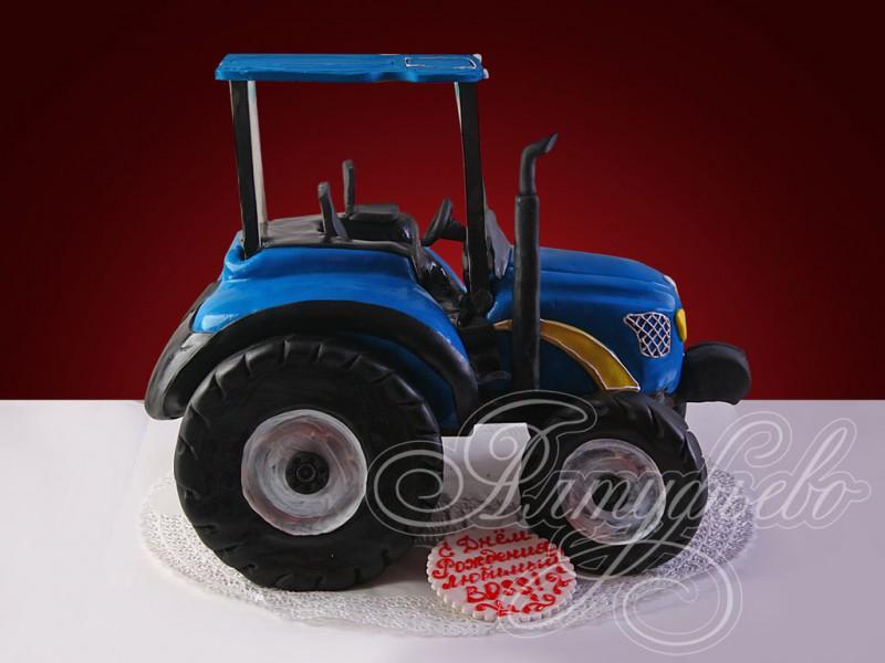 Смотреть фото детских тортов трактор