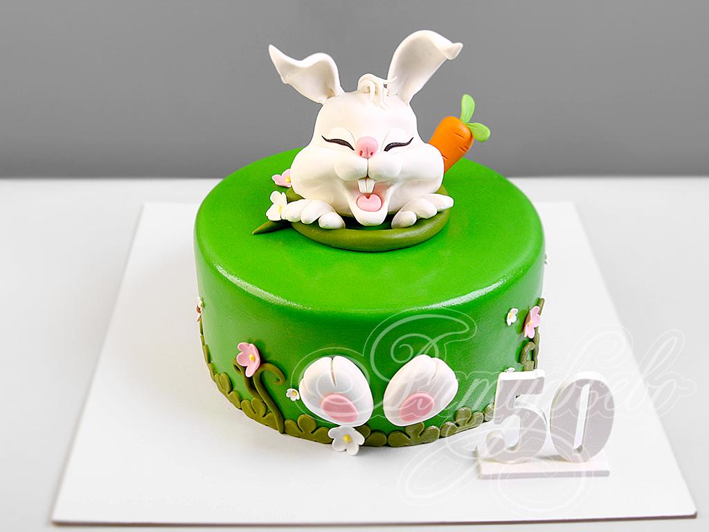 Торт зайка фото