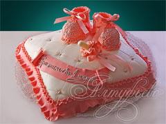 киньте фото тортика вашего на 1 годик для девочки.