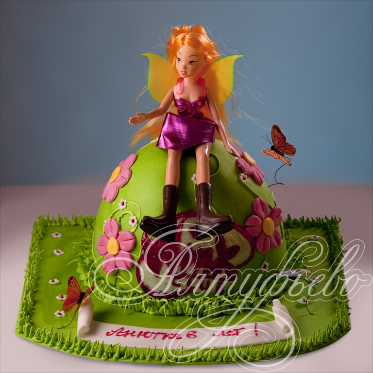 Торт «Принцесса эльвоф Винкс»
