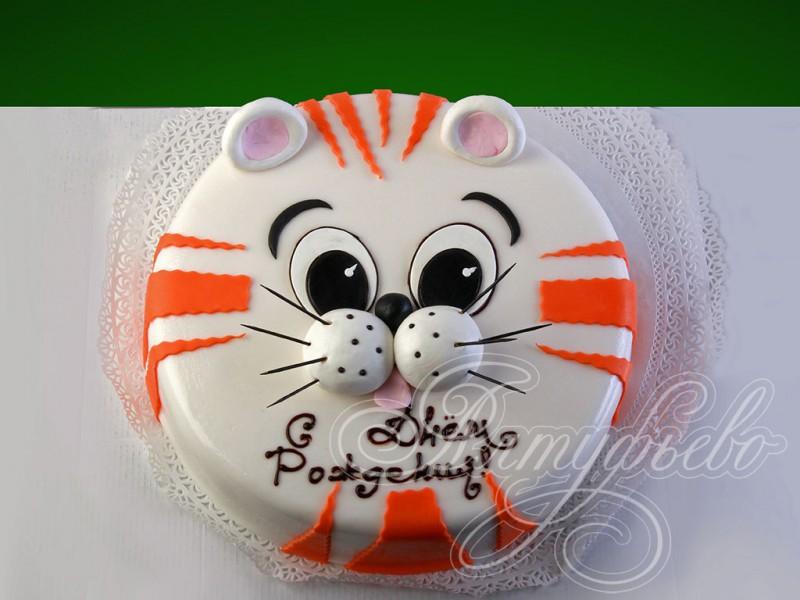 торт в виде кота фото