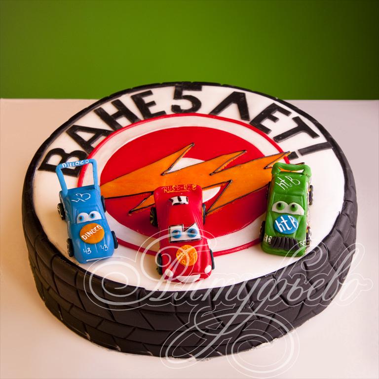 фото торты тачки