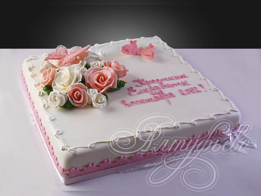Торт твои первые цветы источник