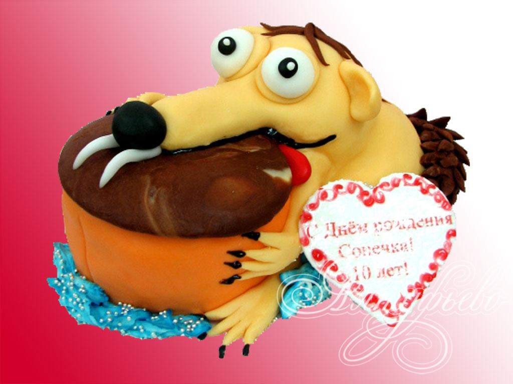 Торт Веселая белка (