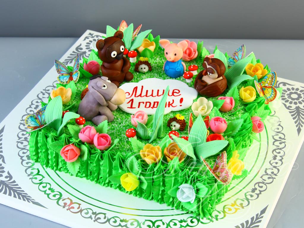 Торт «Винни и его друзья»