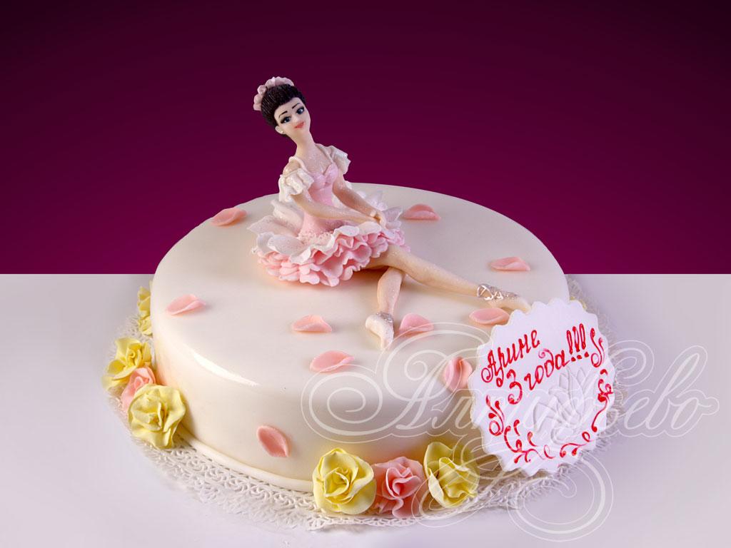 Торт «Воздушная балерина»