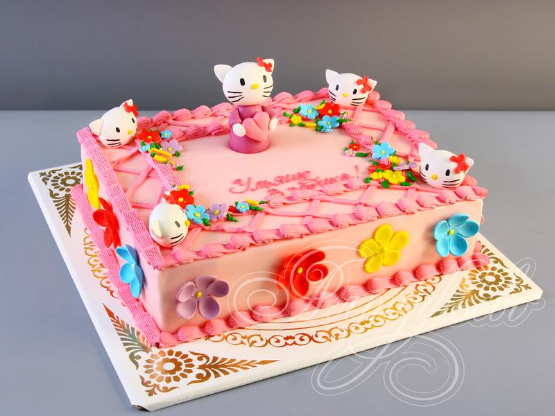Детские торты девочке фото