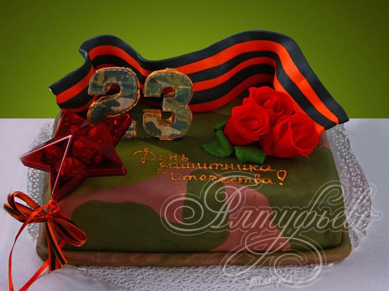 торт в виде подушки с фото