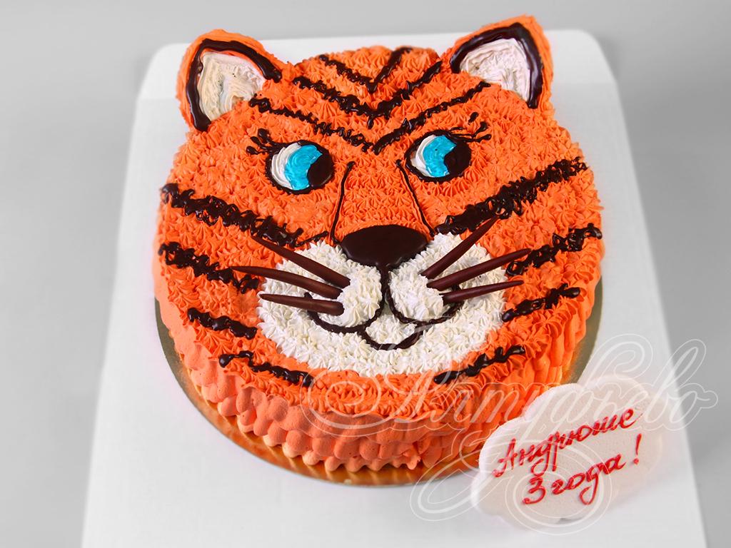 Фото красивых тортов с тиграми