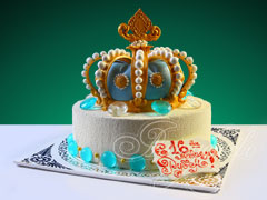 корона торт фото