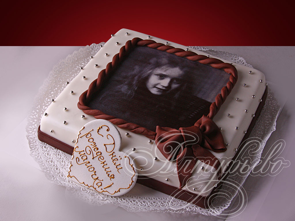 Торт «Фотография на память»