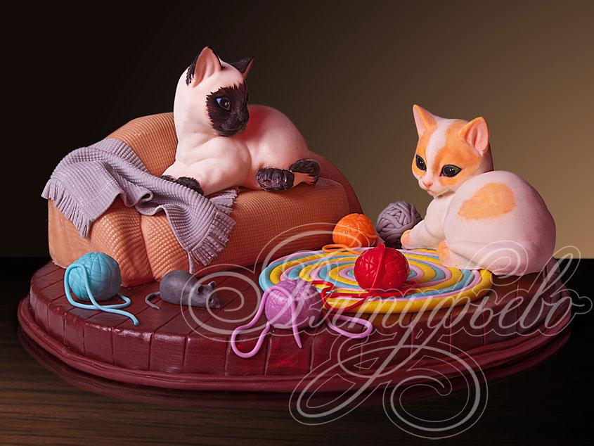 Торт «Гламурные котята»