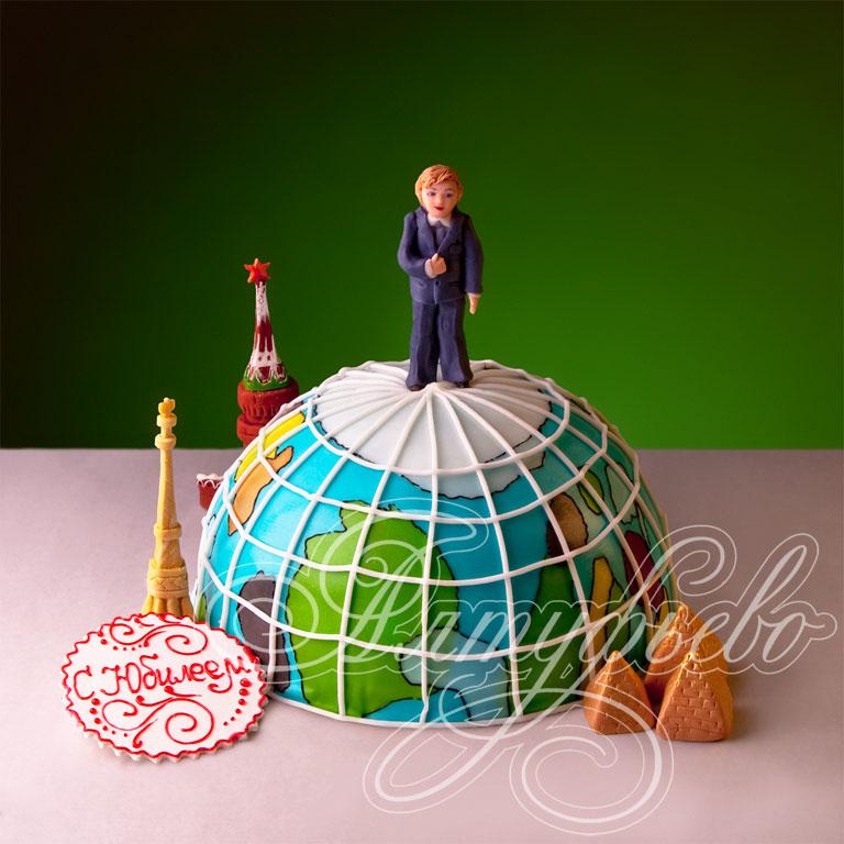 Торт земной шар фото