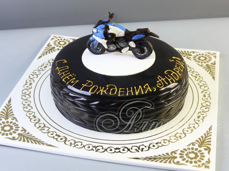 Торт фото мотоциклы