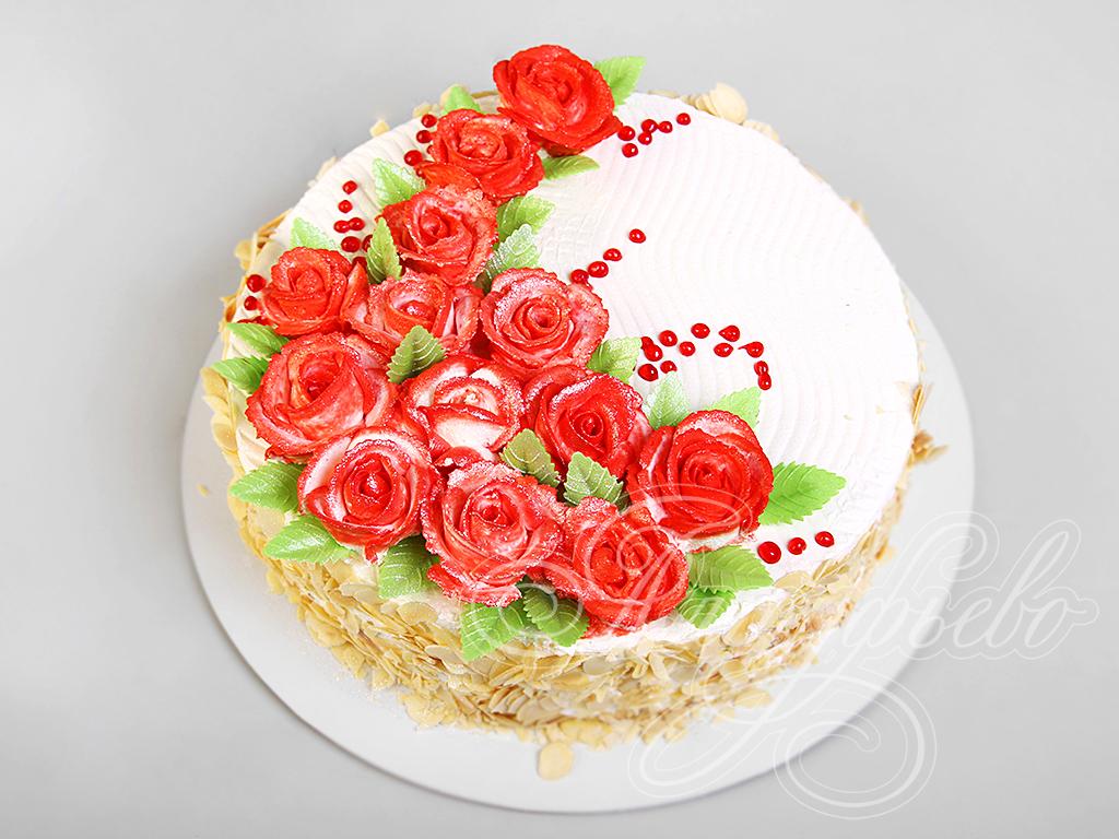 """Торт """"Розы для любимой"""""""