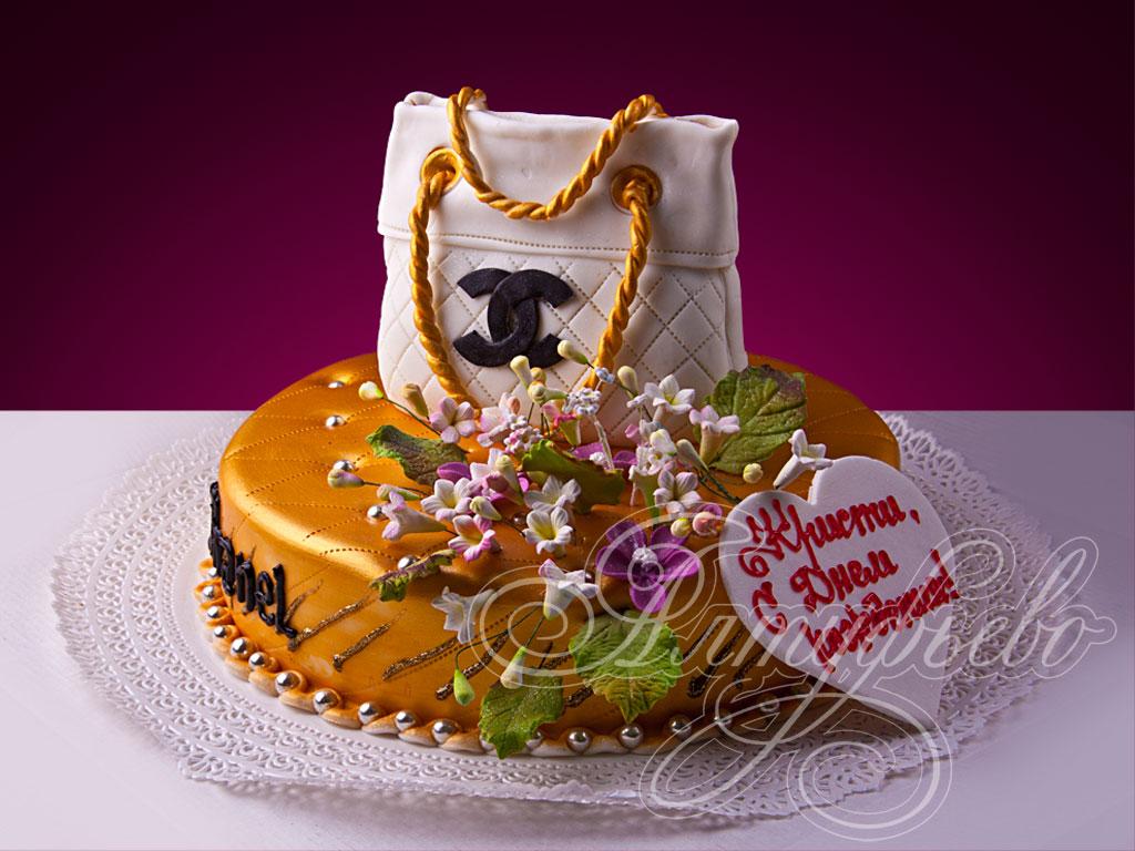 Торт «Шик от Шанель»