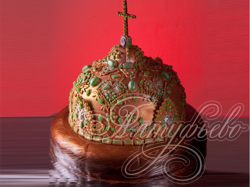 Торт шапка мономаха рецепт с фото пошагово