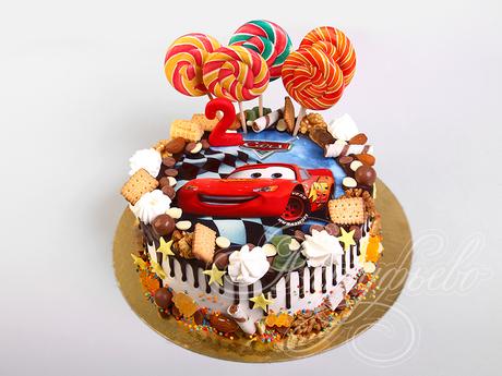 Нет описания фото. | Торт, Тематические торты, Детский торт | 345x460