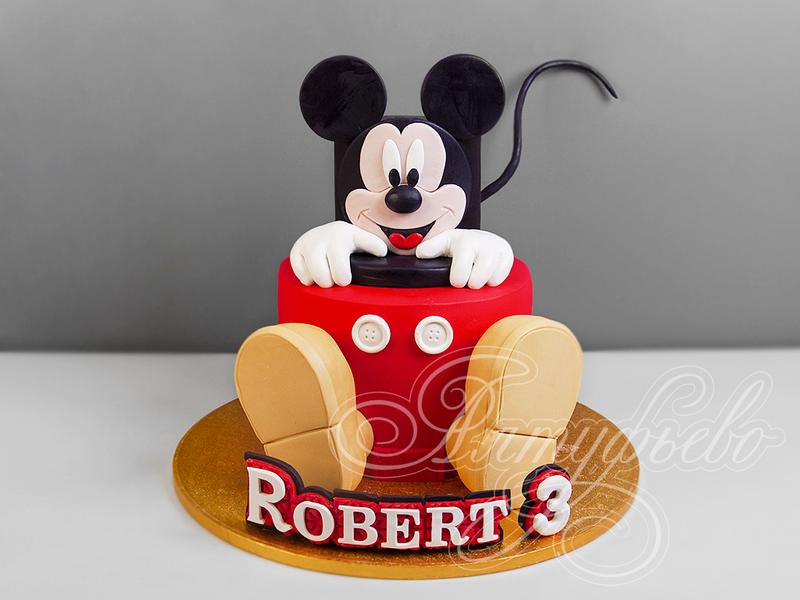 Рецепт выпекания торта Мики маус – Все про торты: рецепты ...   600x800