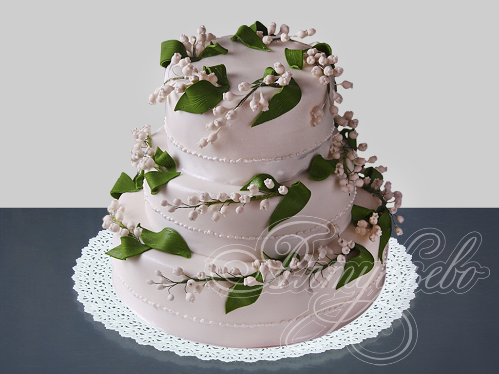 Заказать свадебный торт № 402