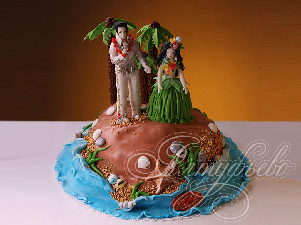 Заказать свадебный торт № 395