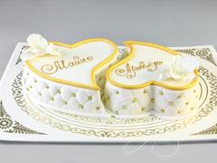 Свадебные небольшие торты