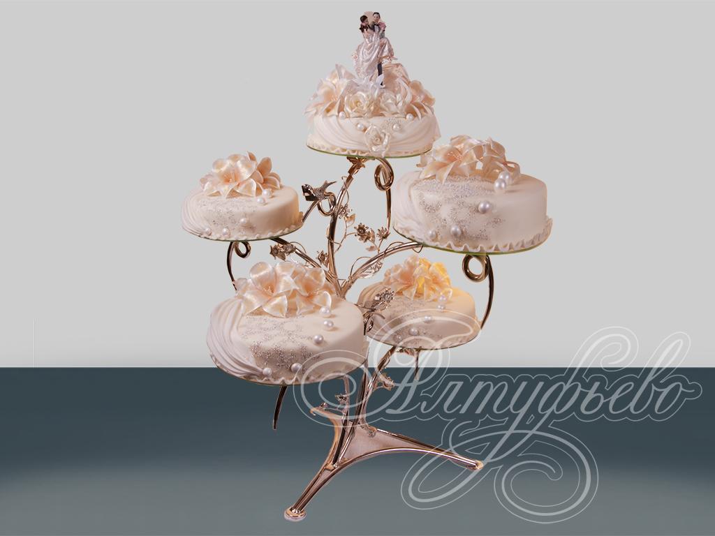 Свадебный торт «Необыкновенный»