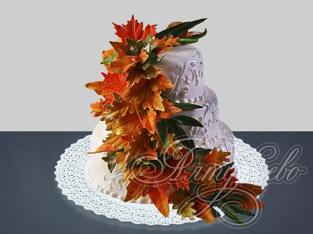 Заказать свадебный торт № 470